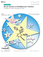 Recent Advances in Metallabenzene Chemistry.