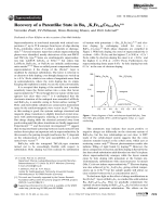 Recovery of a Parentlike State in Ba1xKxFe1.86Co0.14As2