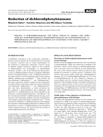 Reduction of dichlorodiphenylstannane.