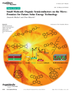 Small Molecule Organic Semiconductors on the Move  Promises for Future Solar Energy Technology.