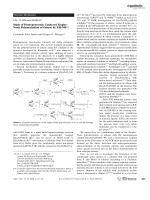 Study of Homogeneously Catalyzed ZieglerЦNatta Polymerization of Ethene by ESI-MS.