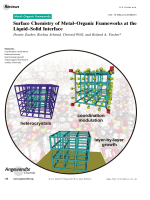Surface Chemistry of MetalЦOrganic Frameworks at the LiquidЦSolid Interface.