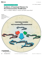 Synthesis of Functional Polymers by Post-Polymerization Modification.