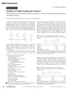Synthesis of Stable Isothiazole Carbenes.
