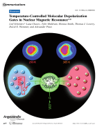 Temperature-Controlled Molecular Depolarization Gates in Nuclear Magnetic Resonance.