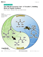 The Dihydroxyacetone UnitЧA Versatile C3 Building Block in Organic Synthesis.
