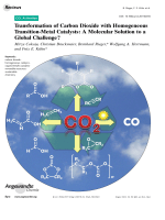 Transformation of Carbon Dioxide with Homogeneous Transition-Metal Catalysts  A Molecular Solution to a Global Challenge.