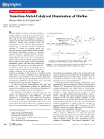 Transition-Metal-Catalyzed Diamination of Olefins.