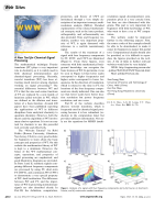 Web Site  A New Tool for Chemical-Signal Processing.