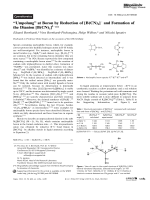 УUmpolungФ at Boron by Reduction of [B(CN)4] and Formation of the Dianion [B(CN)3]2.