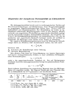 Dispersion der komplexen Permeabilitt an Lithiumferrit.