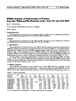 DWBA Analysis of Polarization of Protons from the 9Be(d  p0)10Be Reaction at Ed = 6.0; 7.8 and 10