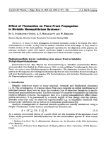 Effect of Fluctuation on Plane Front Propagation in Bistable Nonequilibrium Systems.