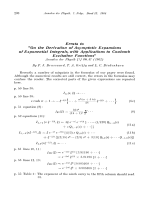 Errata to ДOn the Derivation of Asymptotic Expansions of Exponential Integrals  with Applications to Coulomb Excitation FunctionsФ.
