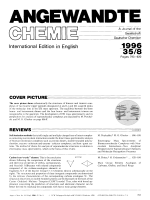 Graphical Abstract (Angew. Chem. Int. Ed. Engl. 81996)