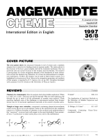 Graphical Abstract (Angew. Chem. Int. Ed. Engl. 81997)