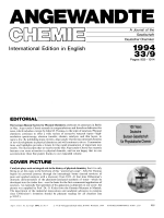 Graphical Abstract (Angew. Chem. Int. Ed. Engl. 91994)