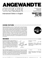 Graphical Abstract (Angew. Chem. Int. Ed. Engl. 13141997)