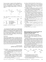 High Stereoselectivity in Lewis-Acid-Catalyzed and Uncatalyzed DielsЦAlder Reactions of the Fumarate of (S)-Ethyl Lactate.