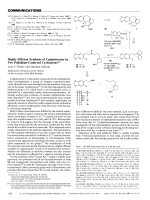 Highly Efficient Synthesis of Cephalotaxine by Two Palladium-Catalyzed Cyclizations.