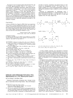 Imidazo[1 2-e][1 3 5]triazepine Derivatives  First Representatives of a New Heterocyclic System.