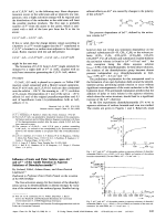 Influence of Ionic and Polar Solutes upon G and V of the Amide Rotation in Aqueous Solutions of Dimethylacetamide.