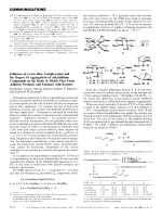 Influence of Lewis Base Complexation and the Degree of Aggregation of Alkyllithium Compounds on the Ration in Which They Form Addition Products and Enolates with Ketones.
