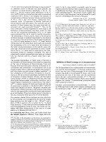 Inhibition of Bond Exchange in Cyclooctatetraenes.