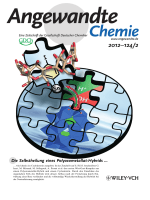 Innenrcktitelbild  Cyclodextrin-Induced Auto-Healing of Hybrid Polyoxometalates (Angew. Chem. 22012)