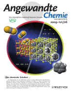 Innentitelbild  Bidirectional Chemo-Switching of Spin State in a Microporous Framework (Angew. Chem. 262009)