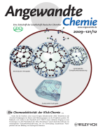 Innentitelbild  Bifunctional Dendrimers  From Robust Synthesis and Accelerated One-Pot Postfunctionalization Strategy to Potential Applications (Angew. Chem. 122009)