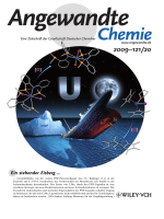 Innentitelbild  Challenging the Metallocene Dominance in Actinide Chemistry with a Soft PNP Pincer Ligand  New Uranium Structures and Reactivity Patterns (Angew. Chem. 202009)