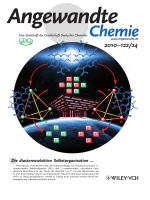 Innentitelbild  Chiral Nanoscale MetalЦOrganic Tetrahedral Cages  Diastereoselective Self-Assembly and Enantioselective Separation (Angew. Chem. 242010)