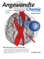 Innentitelbild  Cognitive-Performance Recovery of Alzheimer's Disease Model Mice by Modulation of Early Soluble Amyloidal Assemblies (Angew. Chem. 112009)