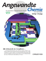 Innentitelbild  Controlled Stability of Molecular Junctions (Angew. Chem. 442009)