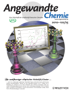 Innentitelbild  Dodecanuclear-Ellipse and Decanuclear-Wheel Nickel(II) Thiolato Clusters with Efficient Femtosecond Nonlinear Absorption (Angew. Chem. 252010)