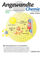Innentitelbild  Matrix-Free Formation of Gas-Phase Biomolecular Ions by Soft Cluster-Induced Desorption (Angew. Chem. 232009)