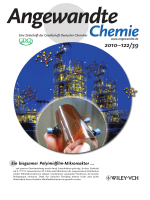 Innentitelbild  Monolithic and Flexible Polyimide Film Microreactors for Organic Microchemical Applications Fabricated by Laser Ablation (Angew. Chem. 392010)