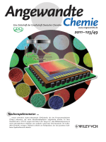 Innentitelbild  Robust Chirped Photonic Crystals Created by Controlled Colloidal Diffusion (Angew. Chem. 492011)