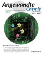 Innentitelbild  Sequential Logic Operations with Surface-Confined Polypyridyl Complexes Displaying Molecular Random Access Memory Features (Angew. Chem. 12010)