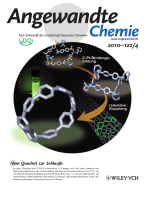 Innentitelbild  Synthesis of [8]Cycloparaphenylene from a Square-Shaped Tetranuclear Platinum Complex (Angew. Chem. 42010)