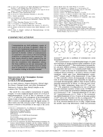 Interconversion of the Chromophore Systems of Porphyrinogen and 2 3 7 8 12 13-Hexahydroporphyrin.