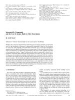 Intermetallic Compounds and the Use of Atomic Radii in Their Description.
