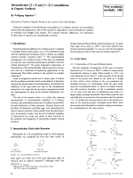 Intramolecular [4+2] and [3+2] Cycloadditions in Organic Synthesis.