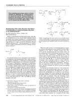 Intramolecular DielsЦAlder Reactions with Methyl 2-Trimethylsiloxy-2-vinylcyclopropanecarboxylates as Key Building Blocks.
