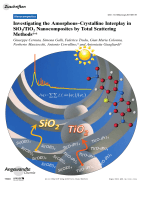 Investigating the AmorphousЦCrystalline Interplay in SiO2TiO2 Nanocomposites by Total Scattering Methods.