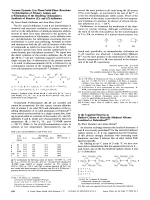 Is the Unpaired Electron in Radical Cations of Sterically Hindered Alkenes Localized or Delocalized.