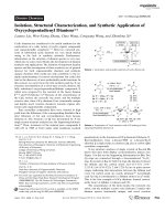 Isolation  Structural Characterization  and Synthetic Application of Oxycyclopentadienyl Dianions.