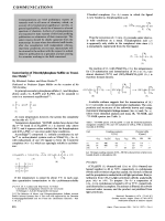 Isomerization of Dimethylphosphane Sulfide on Transition Metals.