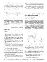 Isomerization versus Decarboxylation of Protonated Oxetanone  Comparison between Experimental Results and Theoretical Calculations.